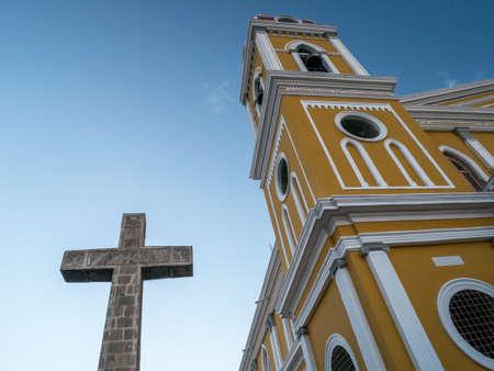 colonial church: Cathedral de Granada, Colonial Church in Nicaragua