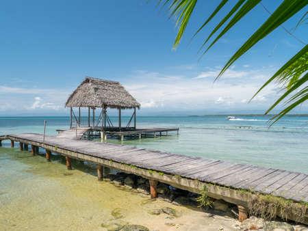 Beach in bocas del toro, Panama, Central America