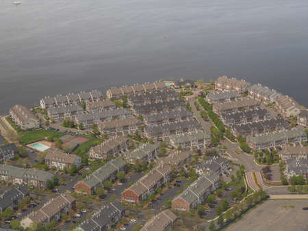 Settlement in New York Stockfoto