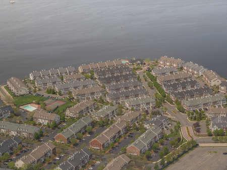 settlement: Settlement in New York Stock Photo