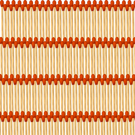 matches: illustration of alot of matches on white background Illustration