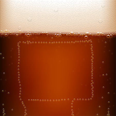 dark beer: ilustration of dark beer background with bubble blank