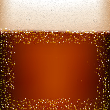 dark beer: illustration of dark beer background with clear