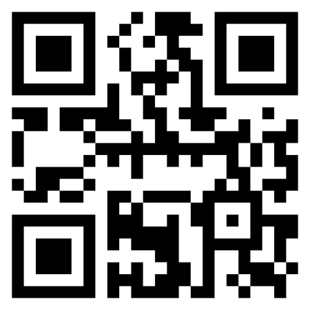 square illustration of qr code by using black and white colors Illustration