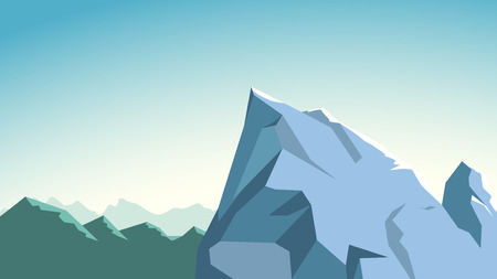 icy: illustration of icy rough edges in soft tone color
