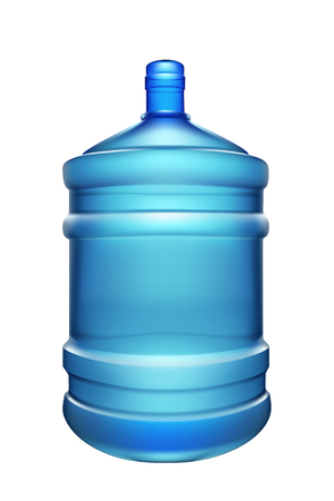 purify: illustration of big water bottle for cooler isolated