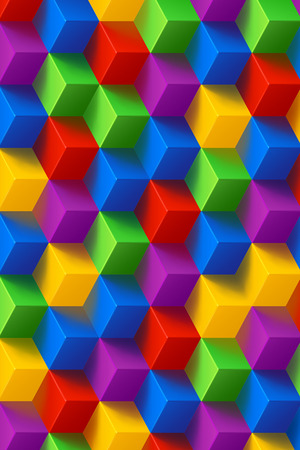 stochastic: cube background  061