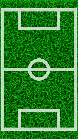 football grass field Illustration