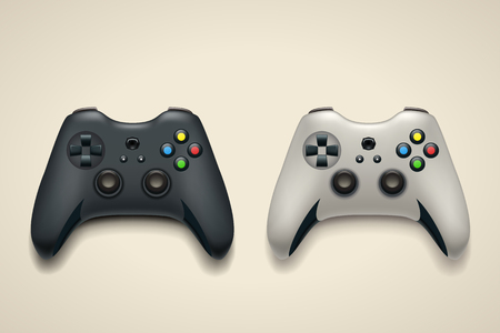 pair gamepads on bright
