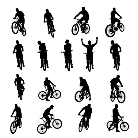 bicycle black set 03