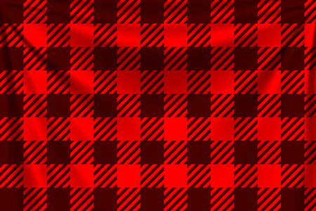 Red lumber textile background