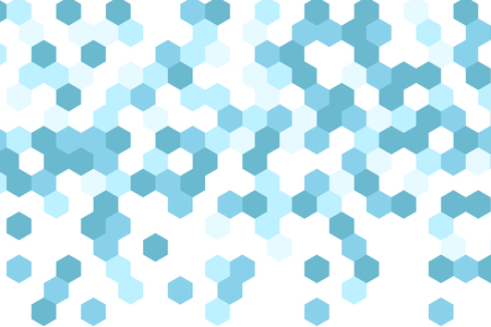 hexahedron abstract background