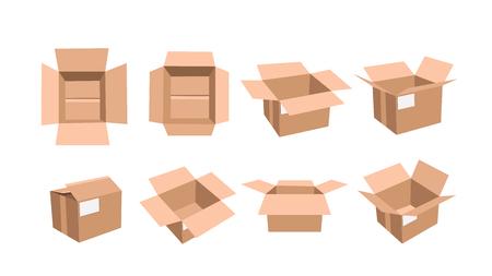 stockpile: carton box set open