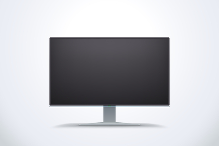 led display: black screen display