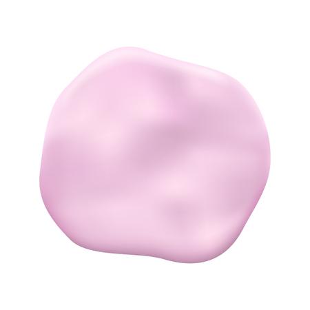 裏切られたピンクのガム