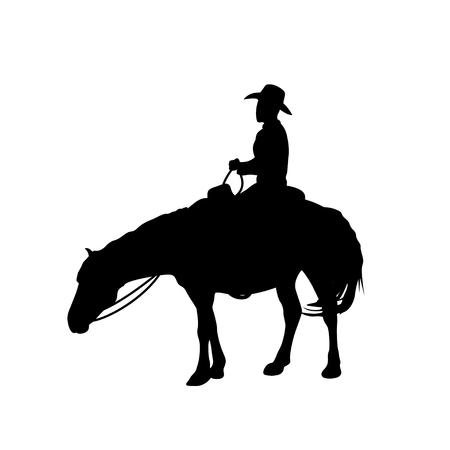 man on a horse Иллюстрация