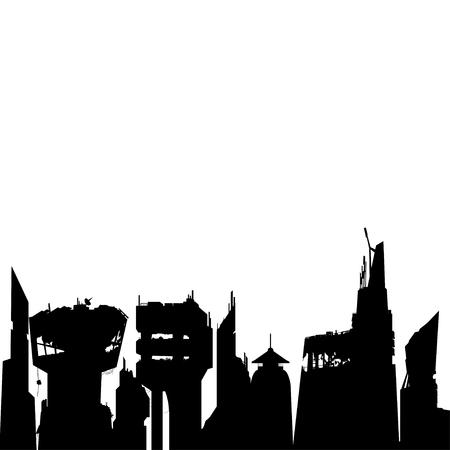 black future silhouette