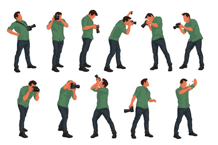 photographer male set