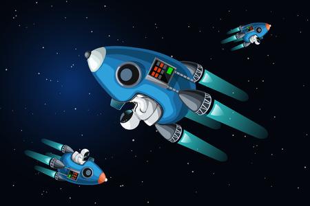 traffic jam in space
