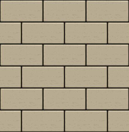 yellow brick cement wall seamless