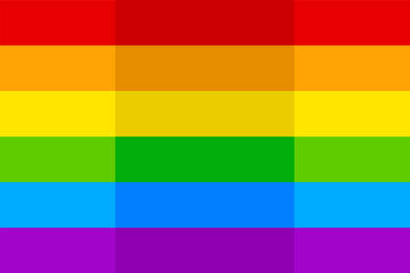image of bright colorful rainbow lgbt flag
