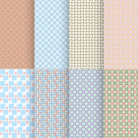 various colored floor tiles seamless back pattern