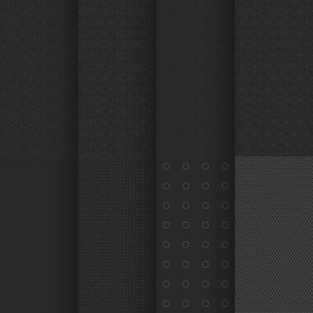 black geometric minimal style seamless in pattern Ilustracja