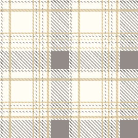 light color knitted tartan vintage seamless pattern