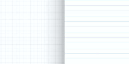 seamless pattern types of notebook line ups