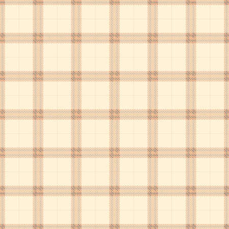 vintage yellow tartan seamless pattern background