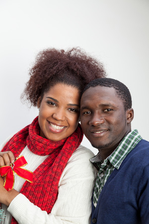 30 35 years: Portrait of husband and wife Stock Photo