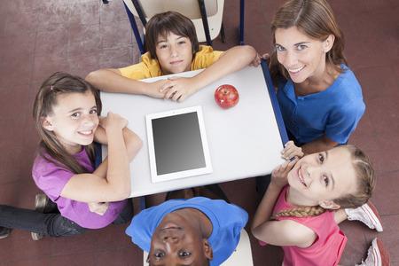 maestro: Escuela primaria Foto de archivo