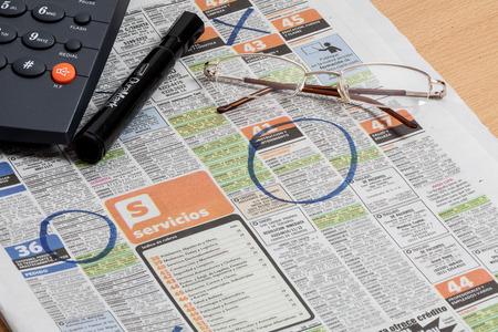 classifieds: Classifieds newspaper