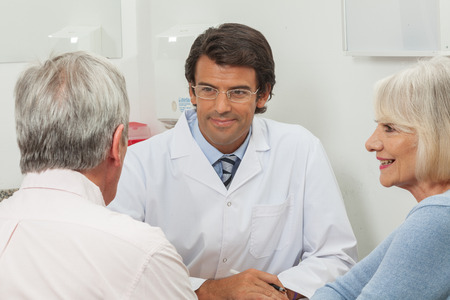 medical man: Doctor and patience