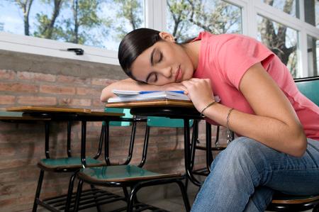 Studenten nehmen einen Rest