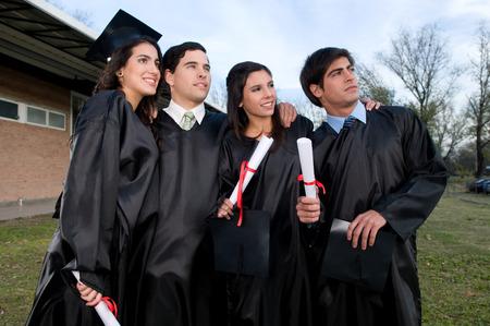 Friends Graduating