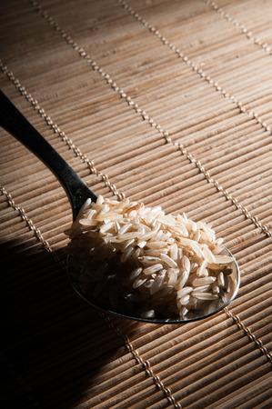 plato del buen comer: Cuchara de arroz