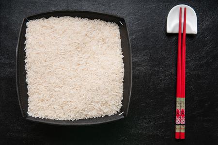 plato del buen comer: rice