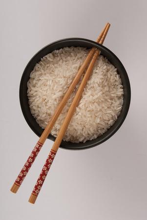 plato del buen comer: Taza de arroz