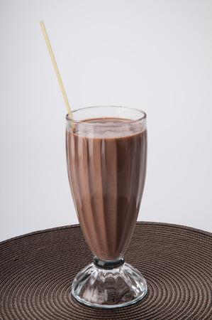 pasteurized: Milkshake Stock Photo