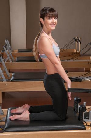 20 30 years: Woman doing pilates