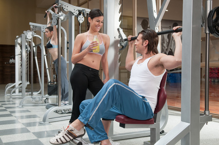20 30 years: Man  lifting weights