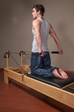20 30 years: man doing pilates