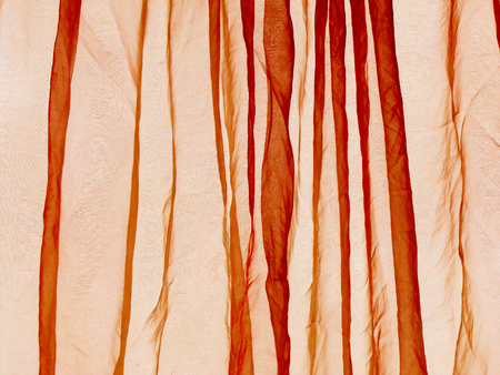 voile: Voile curtain background orange
