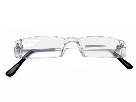 rimless: pair of rimless eye glasses, reading glasses