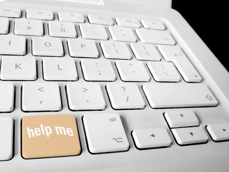 help me: Help me keyboard key