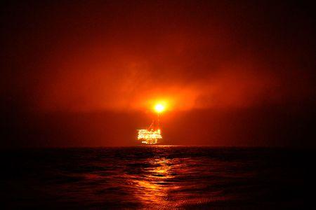 burns night: Gas Platform
