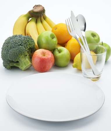 healthy eating requires lots of fruits and vegetables photo