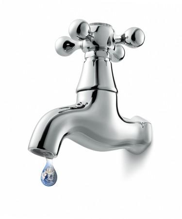 the faucet: Grifo con ca�da de tierra imagen, imagen de globo de dominio p�blico de NASA