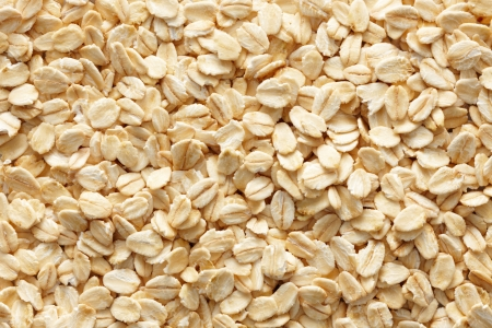 lots of oatmeals or oat flakes as background